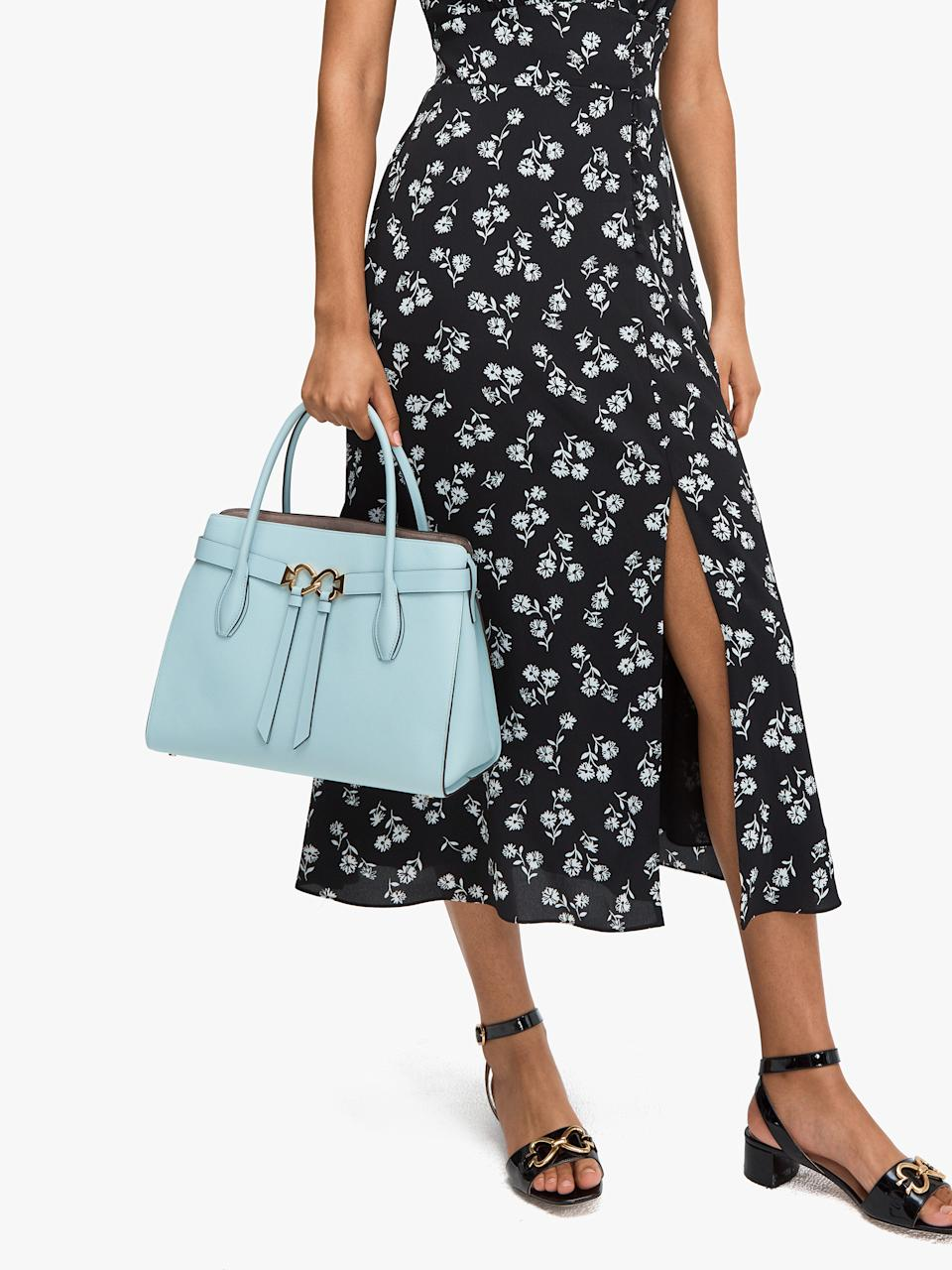 Toujours Large Satchel. Image via Kate Spade.