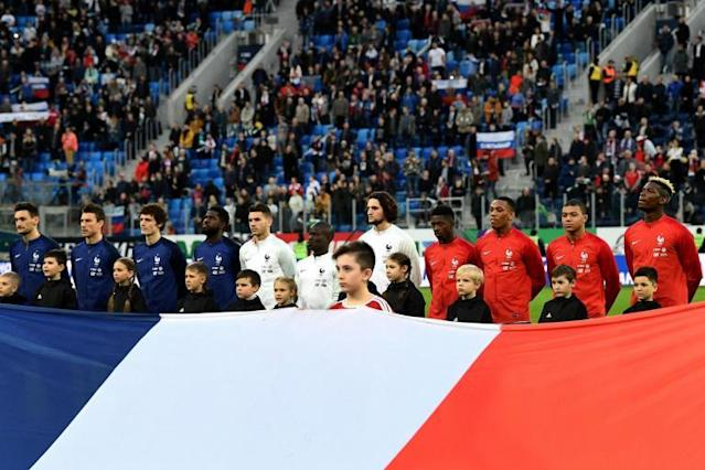 Fifa charge World Cup hosts Russia over racist chants during France friendly