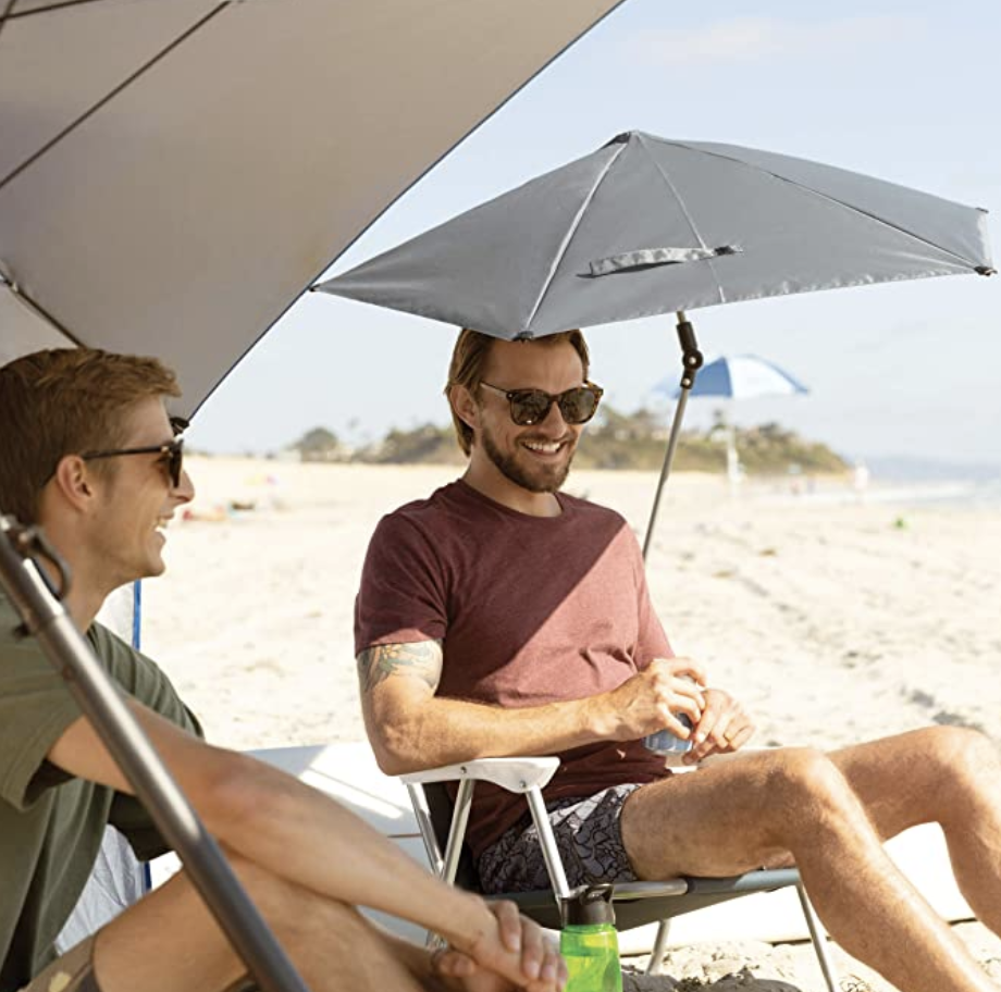 Great for clipping onto your beach chair. (Photo: Amazon)