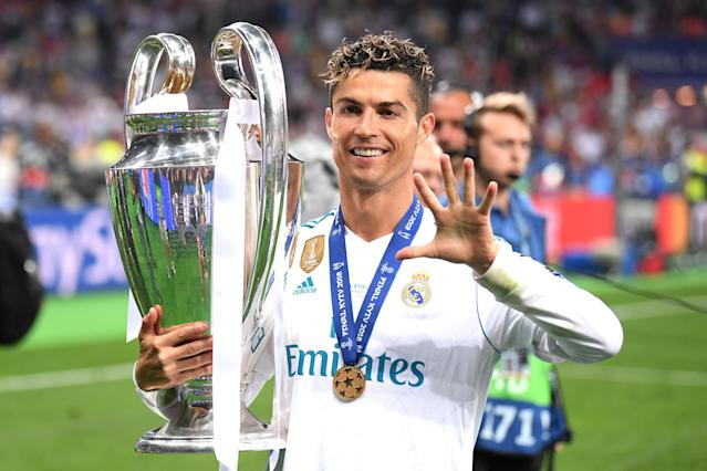 Real Madrid has won four of the last five Champions League titles. Because it has, it's one of the two richest clubs in the world. (Getty)