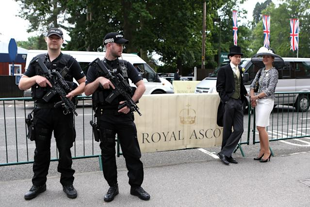 Beefed-up security is just one of the new measures implemented by Royal Ascot's executive