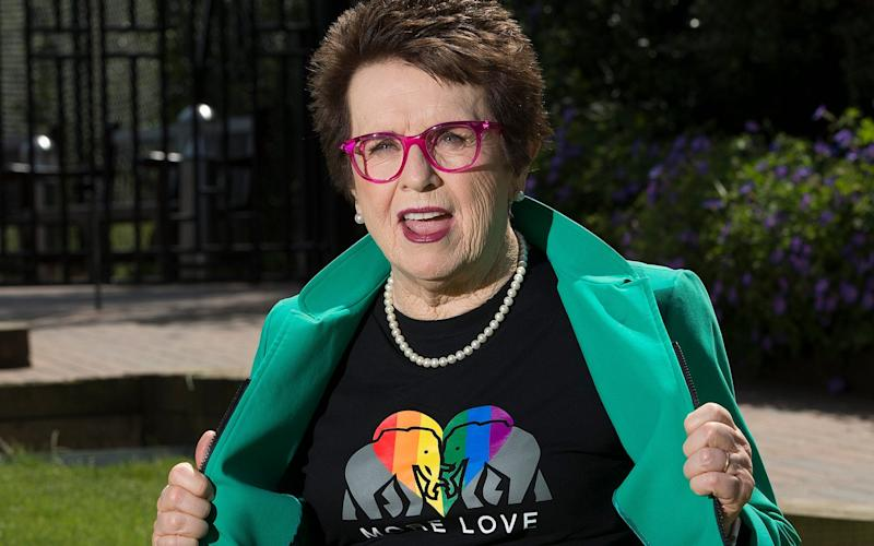 Billie Jean King has dedicated her life to campaigning for equal rights - © Eddie Mulholland
