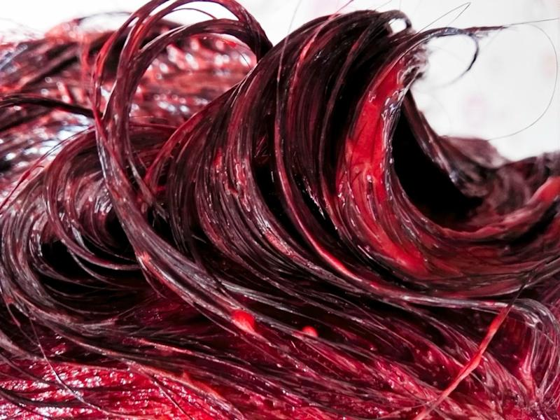 A reddish hair color like this got a student suspended