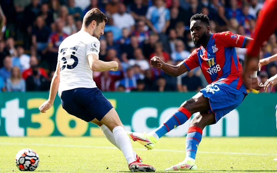 Crystal Palace's Odsonne Edouard scores their second goal - Action Images via Reuters/John Sibley