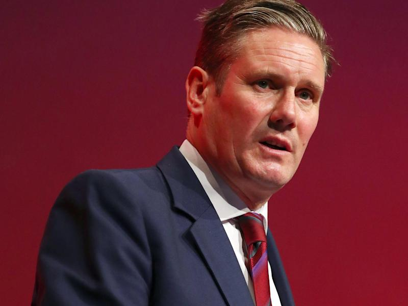 Keir Starmer said the debate about the European Charter of Fundamental Rights was 'about the type of nation we want to be': EPA