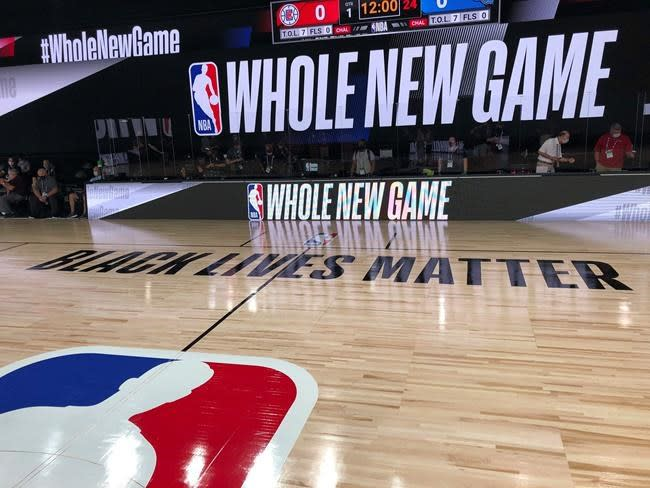 NBA restart likely to provide TV audience new sights, sounds