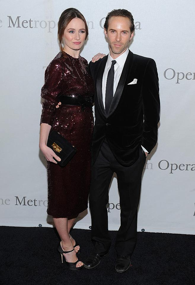 """Emily Mortimer had the best accessory of the night -- her handsome husband Alessandro Nivola. Dimitrios Kambouris/<a href=""""http://www.wireimage.com"""" target=""""new"""">WireImage.com</a> - March 15, 2009"""