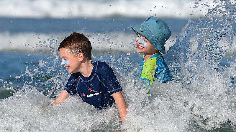 Children can expect fine weather over most of the September school holidays.