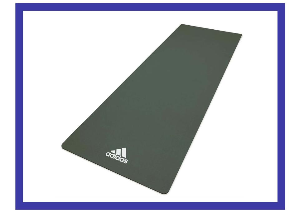 Get a grip, with this yoga mat. (Photo: Walmart)