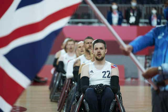 GB's wheelchair rugby team secured a tense final win over the United States