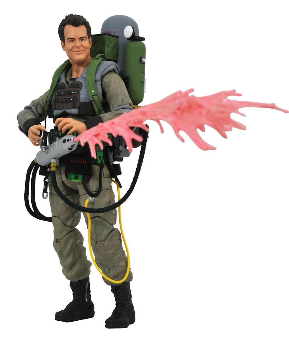 """<p>With the 20th anniversary of <em><a rel=""""nofollow"""" href=""""https://www.yahoo.com/entertainment/tagged/ghostbusters"""" data-ylk=""""slk:Ghostbusters II"""" class=""""link rapid-noclick-resp"""">Ghostbusters II</a> </em>looming in 2019, what better way to get in the mood than with this mood slime-enhanced statue of Ray Stantz? Statue of Liberty figure not included. (Photo: Diamond Select Toys) </p>"""