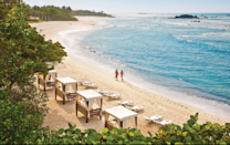 """<p>Nestled on Riviera Nayarit's pristine coastline is t<a href=""""http://www.fourseasons.com/puntamita/"""" rel=""""nofollow noopener"""" target=""""_blank"""" data-ylk=""""slk:his 1,500-acre casita-style property"""" class=""""link rapid-noclick-resp"""">his 1,500-acre casita-style property</a>. The Nuna infinity pools offer panoramic views of the Pacific Ocean, and picture-perfect miles of beachfront are a backdrop for snorkeling, boogie boarding, surfing, Frisbee, horseback riding, and sand-castle building. You can also opt to simply recline on a hammock, margarita in hand. Highlights include Four Seasons' signature kids club, an on-site gelateria, and new culinary experiences (pre-Hispanic cooking with ancient tools and """"fear factor"""" ingredients) in an open-air kitchen or the """"Catch and Cook"""" expedition that allows guests to dive and fish for their lunch. (Photo: Courtesy of Four Seasons)</p>"""