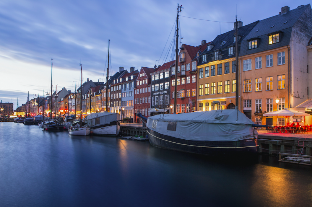 <p>Denmark finished second this year after winning the world's happiest country title four times.<br /> (Picture: Rex) </p>