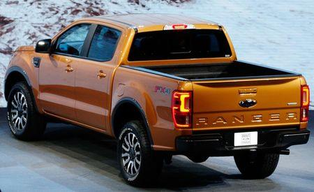 The 2019 Ford Ranger is unveiled during the press preview at the North American International Auto Show in Detroit, Michigan, U.S., January 14, 2018. REUTERS/Brendan Mcdermid