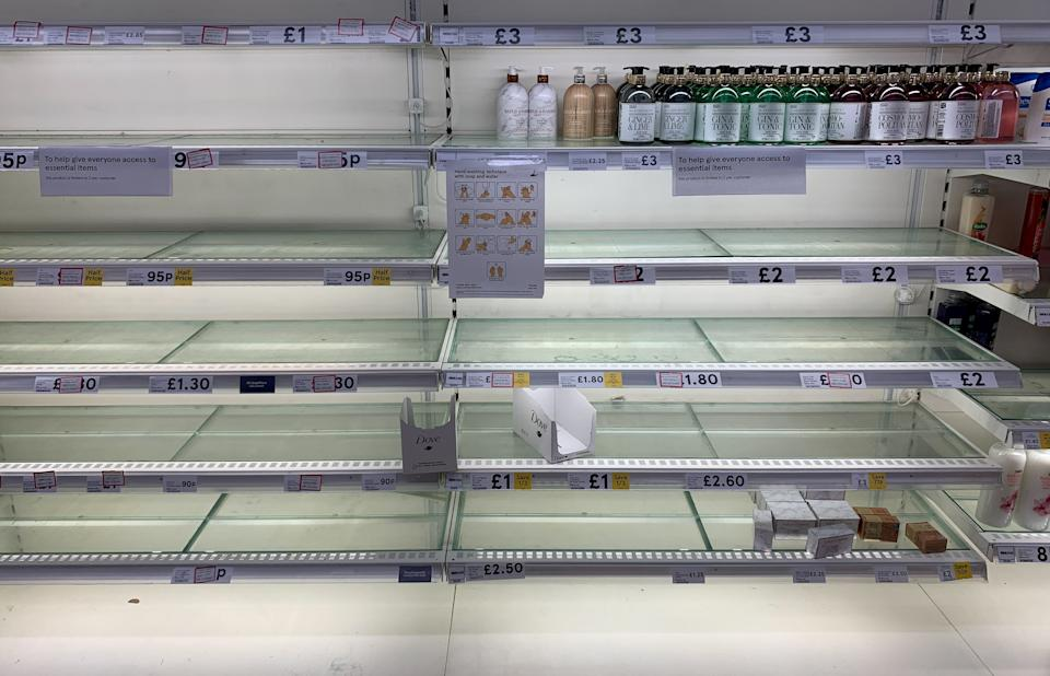 People are opting for the cheapest products available on the shelves. (SWNS)