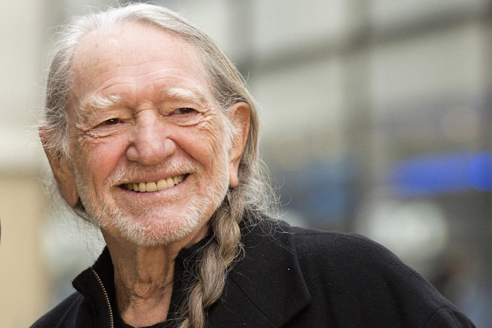 """FILE - This Nov. 20, 2012 file photo shows country music legend Willie Nelson on NBC's """"Today"""" show in New York. As the enduring American icon's 80th birthday has approached, he's been honored with lifetime achievement awards, serenaded at special performances and saluted by musicians from every genre of music. (Photo by Charles Sykes/Invision/AP, file)"""