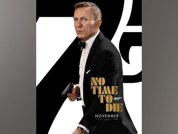 Poster of James Bond film 'No Time To Die' featuring Daniel Craig (Image Source: Instagram)