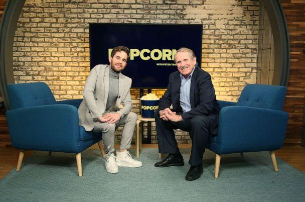 PHOTO: Ben Platt appears on 'Popcorn with Peter Travers' at ABC News studios, October 2, 2019, in New York City. (Emilie Richardson/ABC News)