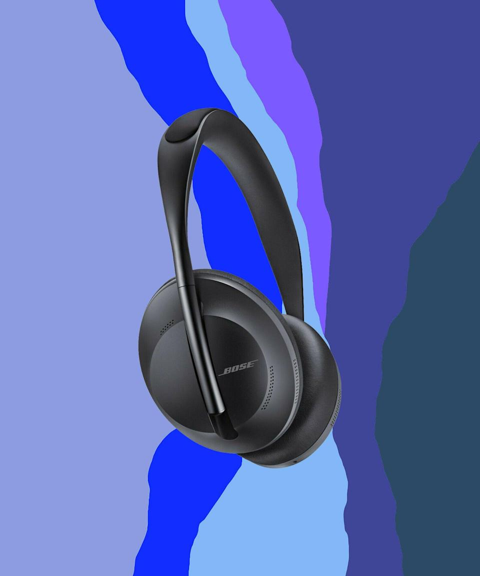 "<br><br><strong>Bose</strong> Noise Cancelling Headphones 700, $, available at <a href=""https://go.skimresources.com/?id=30283X879131&url=https%3A%2F%2Fwww.ebay.com%2Fitm%2FBose-Noise-Cancelling-Headphones-700-Certified-Refurbished%2F153863412679"" rel=""nofollow noopener"" target=""_blank"" data-ylk=""slk:eBay"" class=""link rapid-noclick-resp"">eBay</a>"