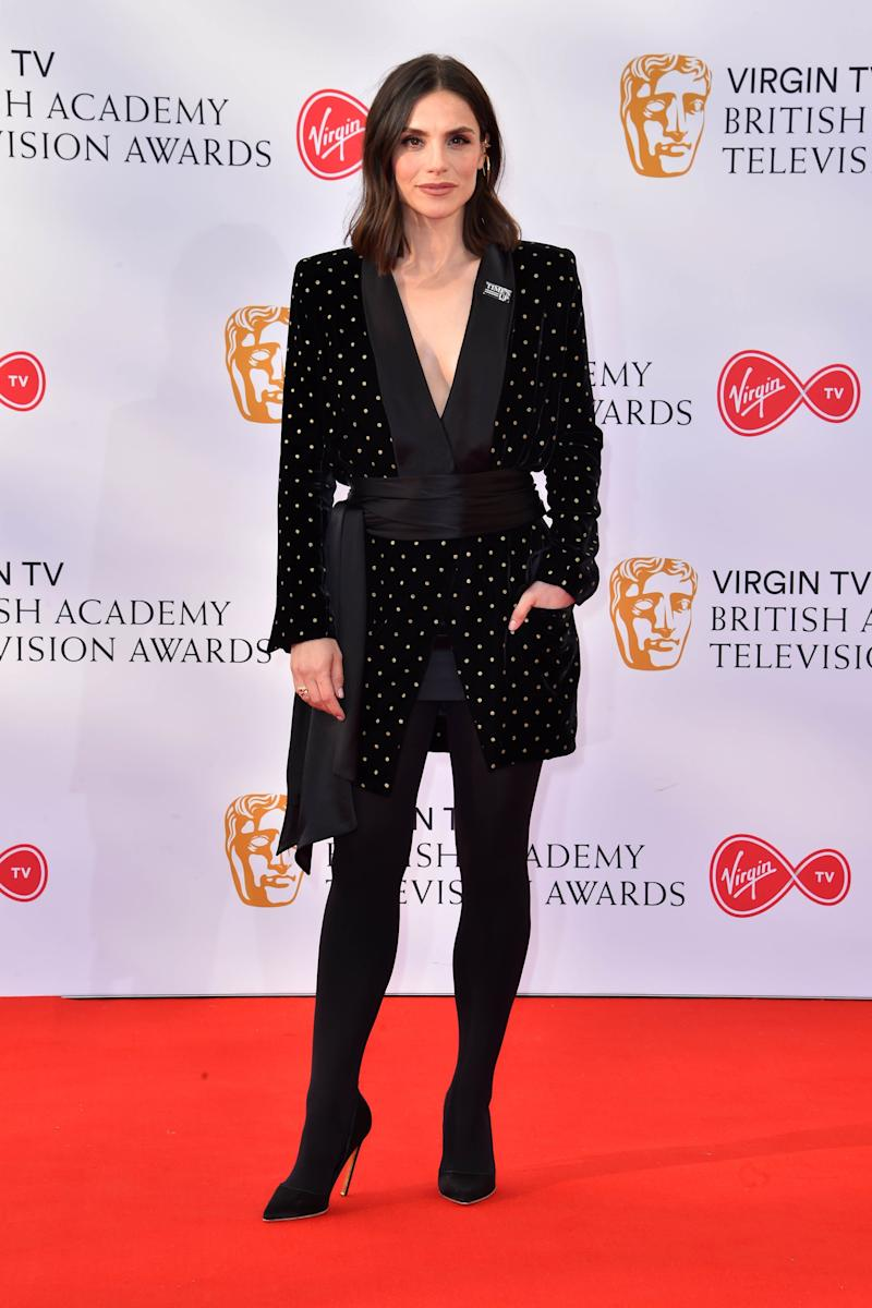 Charlotte Riley attending the Virgin TV British Academy Television Awards 2018 held at the Royal Festival Hall, Southbank Centre, London.