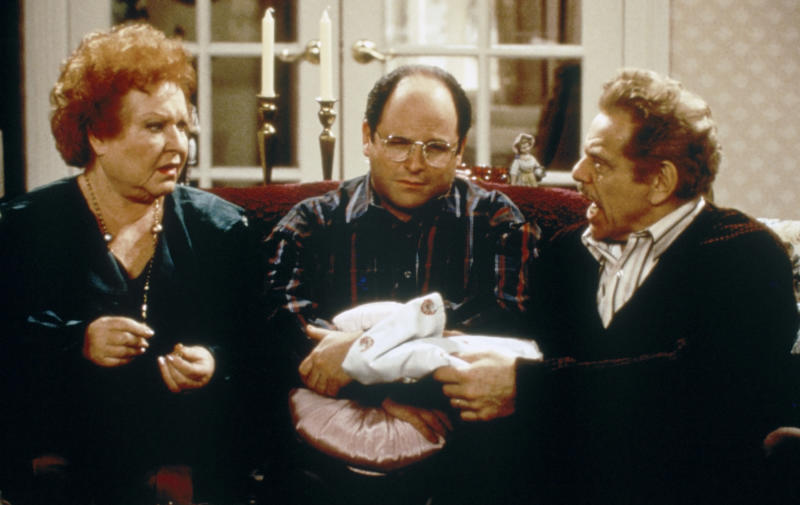 George Costanza moved in with his parents when he lost his job (Getty)