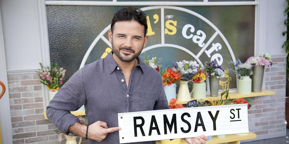 Ryan Thomas swapped Corrie for Neighbours this year.