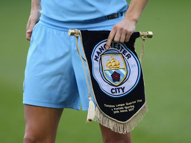 City women are left needing to score three unanswered goals in the return leg (Getty)