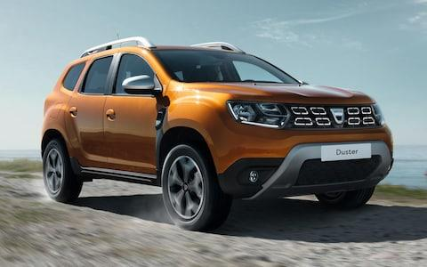 Dacia Duster 2018 model year - launched at Frankfurt show 2017