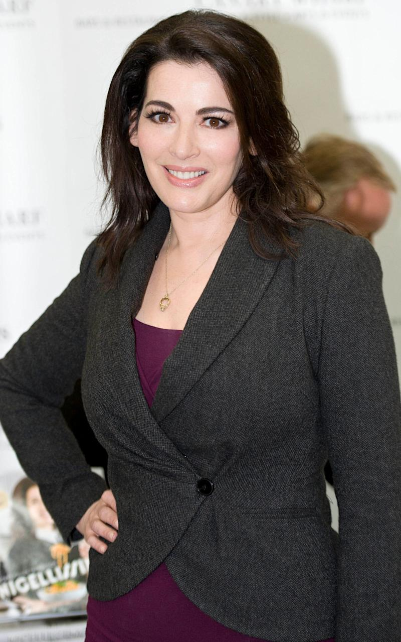 Nigella Lawson, daughter of former Conservative chancellor Lord Lawson - Credit:  Geoff Pugh for the Telegraph