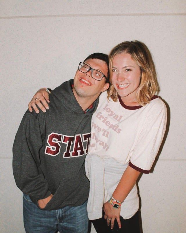 Spencer Kirkpatrick and Rachel Dumke were elected Mississippi State University's homecoming king and queen on Tuesday, Oct. 8, 2019.