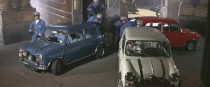 "<p>Although the Minis in the 2003 remake are gorgeous, they don't even come close to the models from the '69 film. The British Motor Corporation, the maker of the car, refused to donate any cars to the film, selling the production crew six Minis at trade price (leading 30 more to be purchased at retail). As uncooperative as BMC was, screenwriter Troy Kennedy Martin refused to trade out the vehicles for one of the world's most-famous chase scenes. </p><p>The head of Fiat, Gianni Agnelli, was enthusiastic about the film, offering to donate all the cars they needed—hopefully Fiat 500s in place of the Minis—and happily assisting the production. He allowed the crew to shoot and practice on the company's private premises and gave them three Ferrari Dinos for the Mafia to drive. The red, white, and blue getaway cars feature a four-cylinder, 75-hp engine, with a top speed of 97 mph and an improbability of them toting more than 300 pounds of gold. </p><p>While it's a film predominantly about cars and driving, Michael Caine could not drive at the time and is never seen driving a car in the film.</p><p><a class=""link rapid-noclick-resp"" href=""https://www.amazon.com/gp/video/detail/0QBPFN2GNSTJYE3PQWCSI6M5YG/?tag=syn-yahoo-20&ascsubtag=%5Bartid%7C10054.g.27421711%5Bsrc%7Cyahoo-us"" rel=""nofollow noopener"" target=""_blank"" data-ylk=""slk:AMAZON"">AMAZON</a></p>"