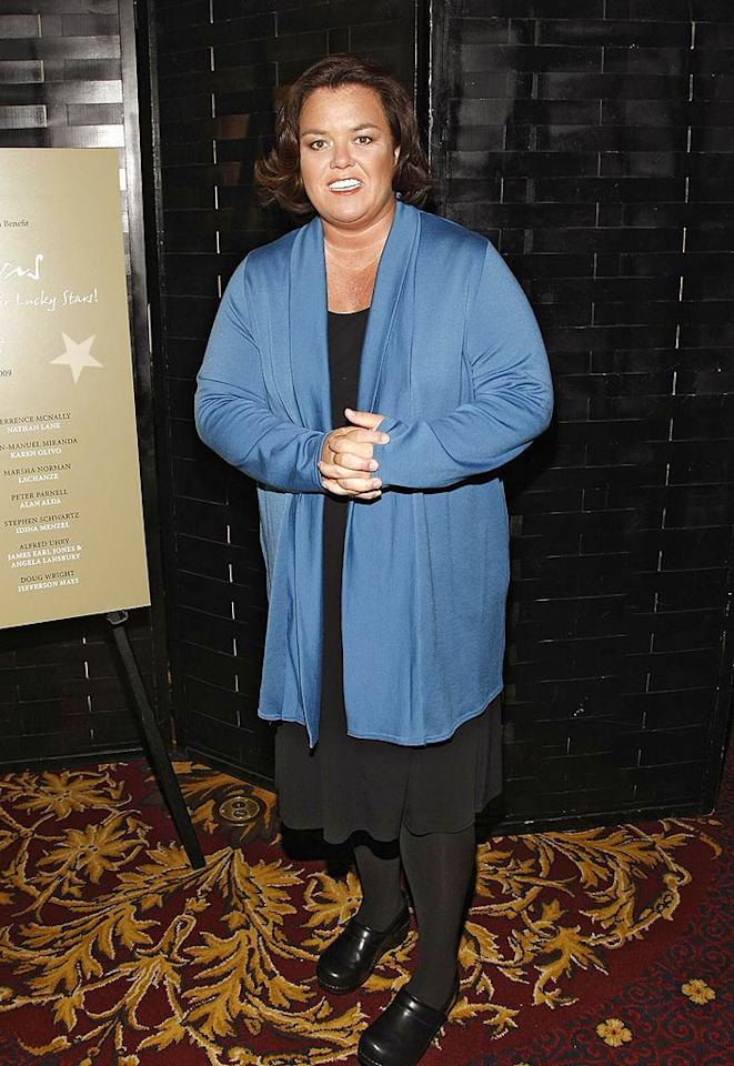 """Our """"Out 'n' Proud"""" gallery just wouldn't be complete without one of the world's strongest LGBT supporters and passionate gay adoption advocates, the one-and-only Rosie O'Donnell. Brian Ach/<a href=""""http://www.wireimage.com"""" target=""""new"""">WireImage.com</a> - April 20, 2009"""