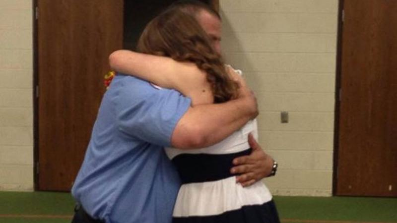 Teen's Graduation Present Is Hero Who Rescued Her as Infant