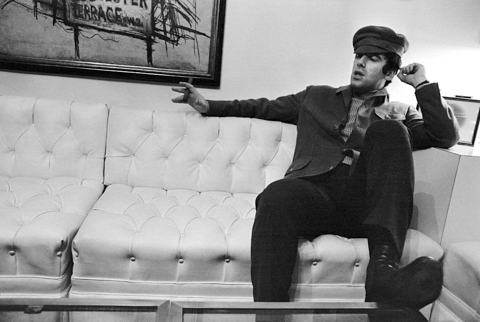 <p>Elliot Gould looking cool, like Elliot Gould, in 1975.</p>
