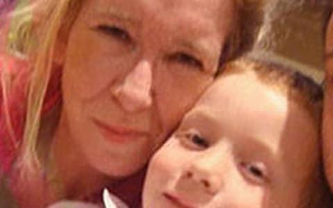 Sally Jones and her son Joe, aged around seven before they left for Syria - Credit: Collect