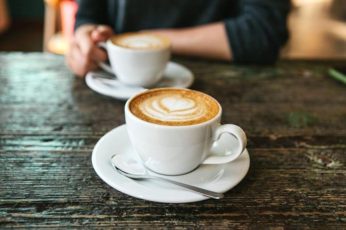 """<p>There's a reason why you tend to have a nice poop after you drink your morning cup. """"<a href=""""https://www.prevention.com/food-nutrition/healthy-eating/a19831490/coffee-good-for-you/"""" rel=""""nofollow noopener"""" target=""""_blank"""" data-ylk=""""slk:Coffee"""" class=""""link rapid-noclick-resp"""">Coffee</a> helps relieve constipation through the caffeine it provides,"""" says Julie Upton, R.D., cofounder of nutrition website <a href=""""http://appforhealth.com/"""" rel=""""nofollow noopener"""" target=""""_blank"""" data-ylk=""""slk:Appetite for Health"""" class=""""link rapid-noclick-resp"""">Appetite for Health</a>. """"Caffeine increases gastrointestinal motility."""" Basically, the caffeine in your cup of coffee helps get your gut muscle contracting—and that can help you poop.</p>"""