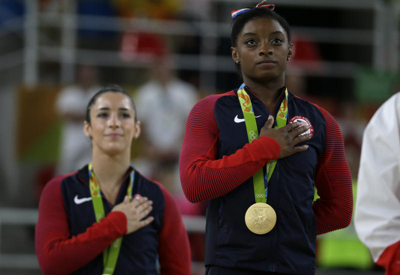 Simone Biles latest gymnast to claim team doctor sexually abused her