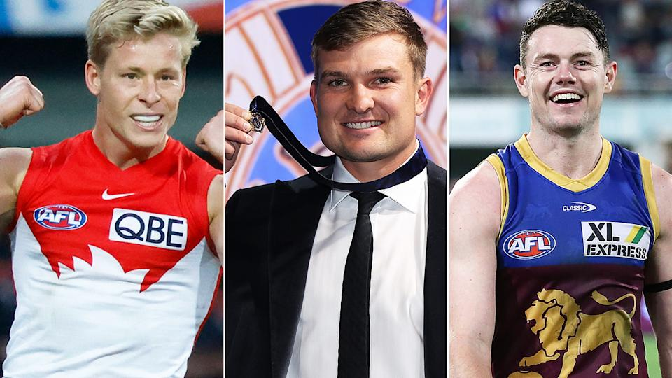 The likes of Sydney, Port Adelaide and the Brisbane Lions are all well placed to contend for the 2022 AFL premiership, despite things not quite going their way in 2021. Pictures: Getty Images