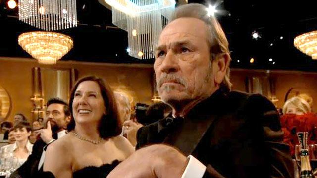 Tommy Lee Jones' Golden Globe Meme: Why So Grumpy?