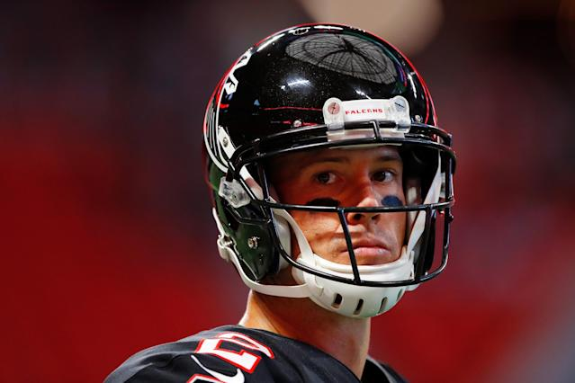 It's good to be a quarterback in the NFL as Matt Ryan signed an extension that guarantees him $100 million. (Getty Images)