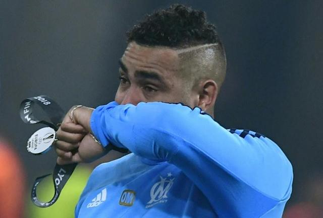 Marseille captain Dimitri Payet hobbled off injured in the first half as his side lost the Europa League final to Atletico Madrid on Wednesday