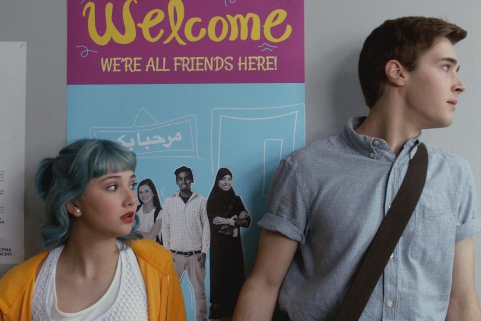 """<p> The modern-day version of <strong>Degrassi</strong>, <strong>Degrassi: Next class</strong> is about the daily struggles of high school life and all the drama that comes with it.</p> <p><a href=""""https://www.netflix.com/title/80062047"""" class=""""link rapid-noclick-resp"""" rel=""""nofollow noopener"""" target=""""_blank"""" data-ylk=""""slk:Watch Degrassi on Netflix now"""">Watch <strong>Degrassi</strong> on Netflix now</a>.</p>"""