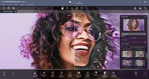 Enhanced AI Style Transfer technology enables photographers to control and level the detail, texture and color in stylized images.