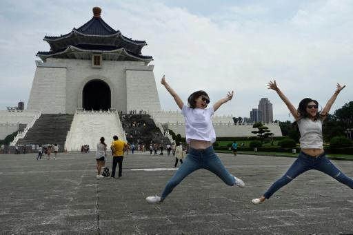 The Chiang Kai-shek Memorial Hall in Taipei. Those who identify as solely Taiwanese has rocketed from 18 percent in 1992 to 55 percent last year, polls show