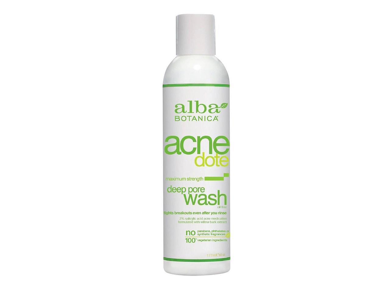 """<p>""""I love this cleanser because it's gentle and very effective at settling my breakouts."""" —Juanita Pearl Johnson, 28</p> <p><strong>Buy it:</strong> $6, <a rel=""""nofollow"""" href=""""https://www.target.com/p/alba-acnedote-deep-pore-wash-6oz/-/A-13323263"""" rel=""""nofollow"""">target.com</a></p>"""