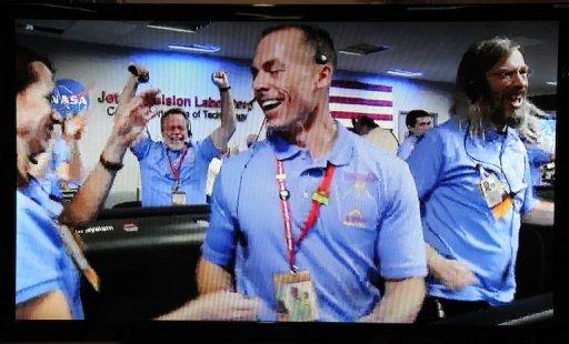 NASA has successfully landed its $2.5 billion Mars Curiosity rover on the surface of the Red Planet