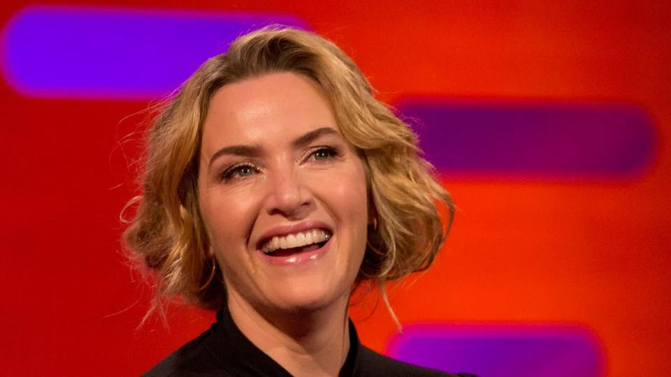 "Kate Winslet 2017 in der ""Graham Norton Show""."
