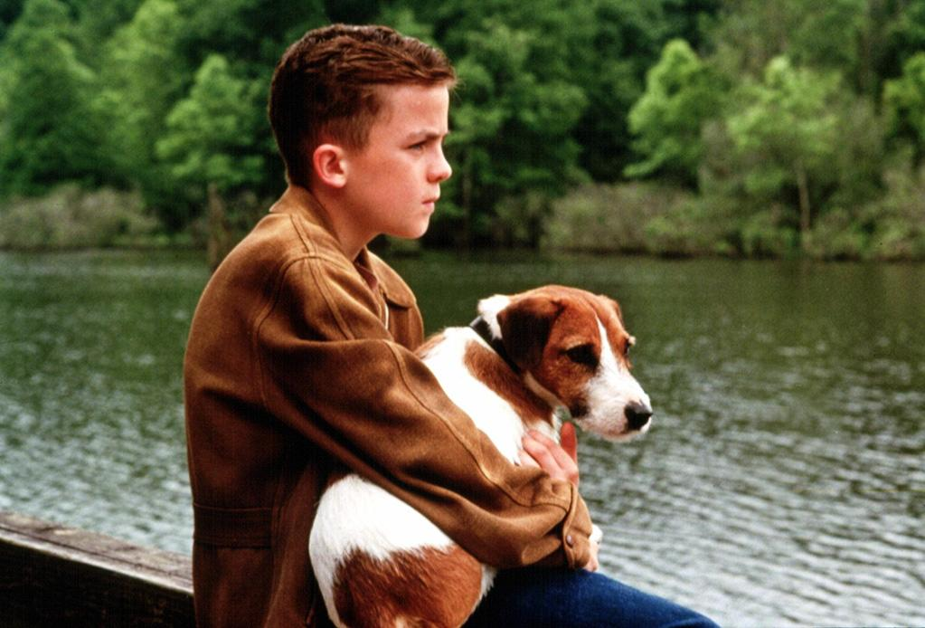 """<a href=""""http://movies.yahoo.com/movie/1800351979/info"""">My Dog Skip</a> (2000): Just writing the name of the movie makes me want to tear up. Seriously, there is no way to get through this thing without bawling -- I dare you to try. Several powerful forces are at work here: an insanely cute Frankie Muniz as our shy, 9-year-old hero; the idea of a dog being your only real friend when you're a lonely, insecure kid; and of course, Skip himself, a lovable, scruffy Jack Russell terrier. Sure, this coming-of-age tale yanks relentlessly at your heartstrings -- and Skip's antics might seem a little too wacky for the truly, deeply cynical -- but its own heart is in the right place."""
