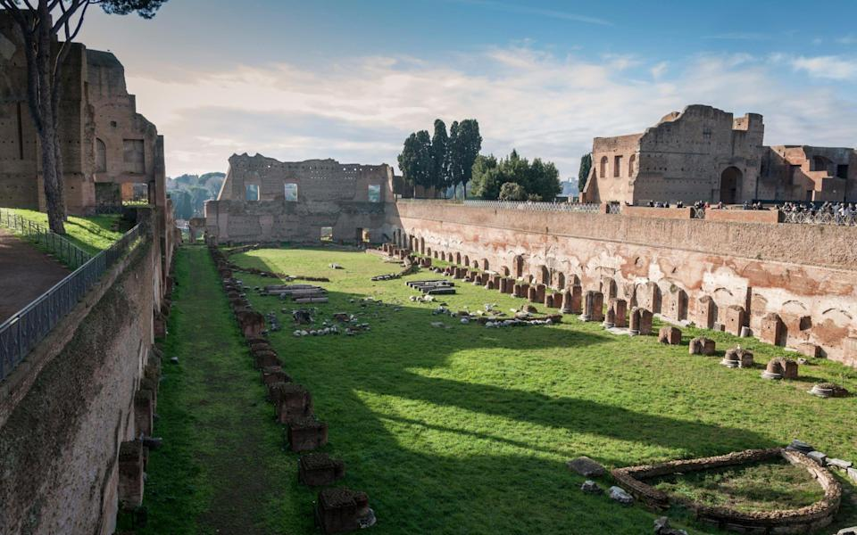 Hippodrome of Domitian, part of the House of Augustus - Getty