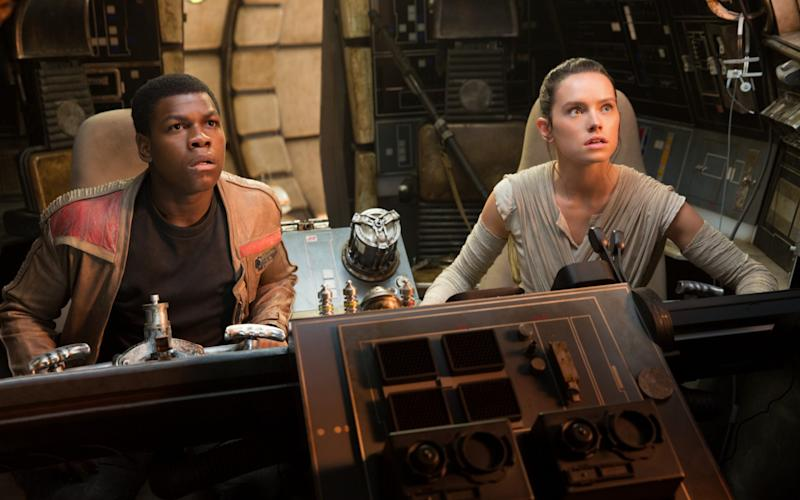 """Mr Boyega claimed Disney had given more """"nuance"""" to his co-stars and suggested the company did not know how to treat him as a black actor - David James/Lucasfilm Ltd"""